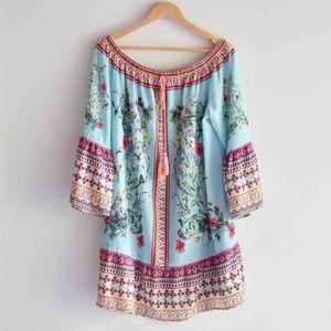 Umgee+ Off The Shoulder Dress